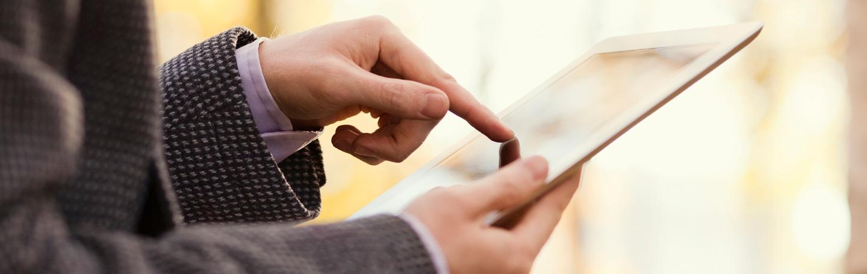 E-mail op tablet | yndenz