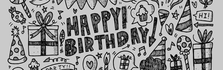Verjaardag doodle | yndenz