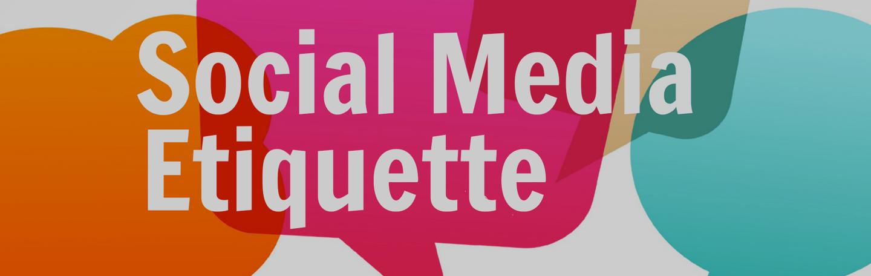 Social Media etiquette | yndenz