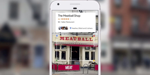 Voorbeeld Google Lens visual search | Online marketingbureau yndenz