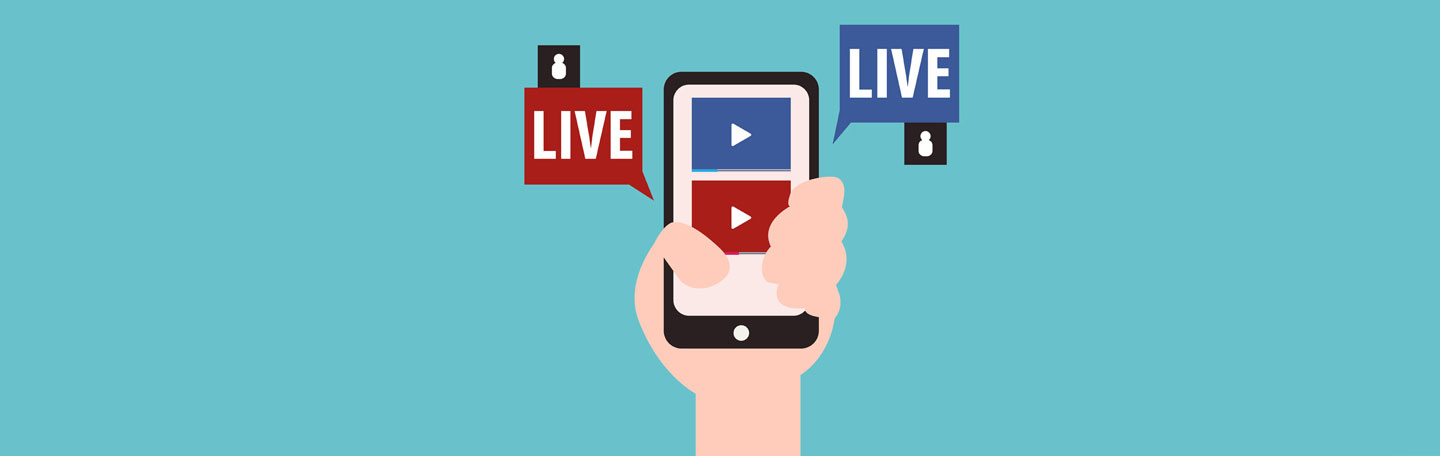 Live video als content trend | yndenz online marketing