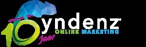 logo-yndenz-wit-onder-kleur-10-jaar